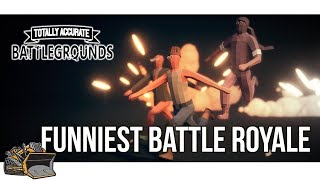 FUNNY BATTLE ROYALE | Totally Accurate Battlegrounds TABG Squad Mode Gameplay