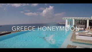 Honeymoon in Greece  Athens, Mykonos, Santorini