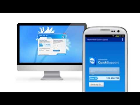 Video of TeamViewer QuickSupport
