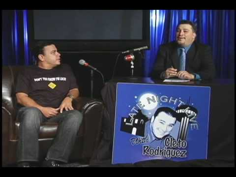 Late Night with Cleto Rodriguez Mike Robles Interview Part 2 Latino Comedy