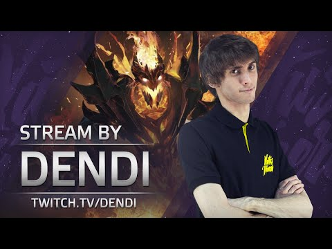 Dota 2 Stream: Na`Vi Dendi playing Shadow Fiend (Gameplay & Commentary)