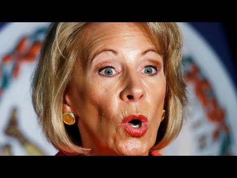 Betsy DeVos' Corrupt Student Loan Scheme EXPOSED