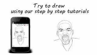 How to Draw: Celebrities YouTube video