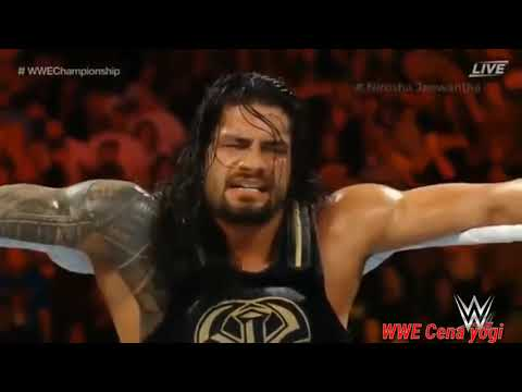 Roman reigns vs Aj Styles wwe extreme rules 2016 full match