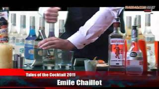 Flairbar.com Show with Emile Chaillot behind the bar @ Tales of the Cocktail 2011!