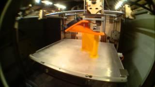 Marlieses Fairphone Case 3D print timelapse