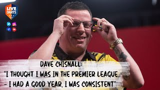 "Dave Chisnall: ""I thought I was in the Premier League – I had a good year, I was consistent"""