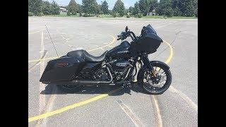 9. 2019 Harley-Davidson FLTRXS Road Glide Special- Vivid Black w/Wrapped Front Fender