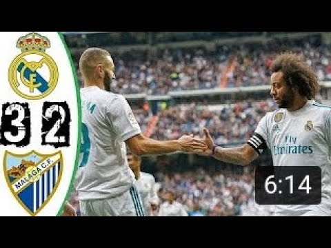Real Madrid vs Malaga 3-2 - All Goals & Highlights 25/11/2017 HD