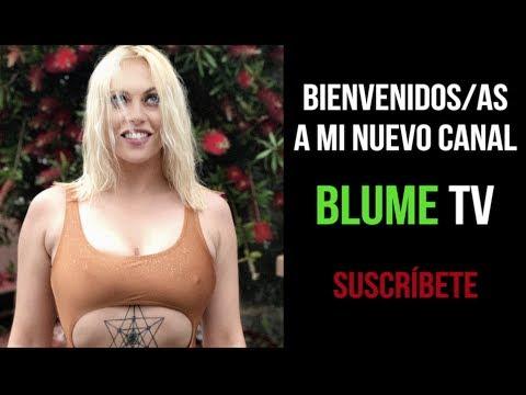 Bienvenidos a mi canal, Blume TV (видео)