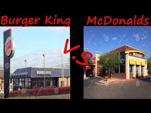 McDonalds vs Burger King Taste Test