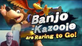 BANJO KAZOOIE WAS SHOWN TOO?? (E3 CHARACTER REVEAL)
