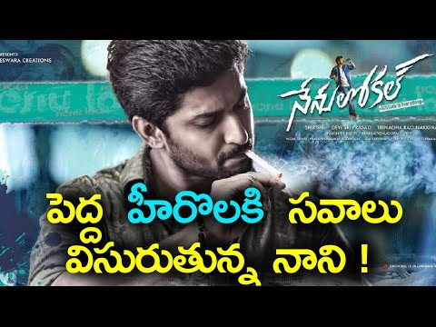 Hero Nani Poses Threat to Top Telugu Stars | పెద్ద హీరొలకి సవాలు విసురుతున్న నాని !