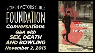Conversations with SEX, DEATH AND BOWLING