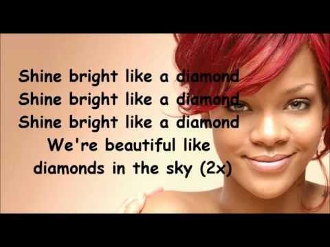 Video Rihanna Diamonds lyrics download in MP3, 3GP, MP4, WEBM, AVI, FLV February 2017