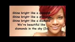 Video Rihanna Diamonds lyrics MP3, 3GP, MP4, WEBM, AVI, FLV April 2019