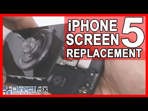 iphone 5 Parts - http://www.directfix.com/category/iPhone-5-Parts.html presents the Apple iPhone 5 teardown and screen replacement directions. This free video will give you s...