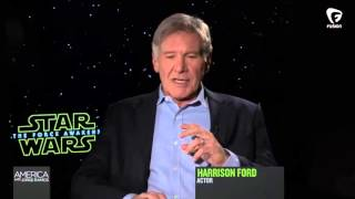 Does Harrison Ford believe there's a gender pay gap in Hollywood?