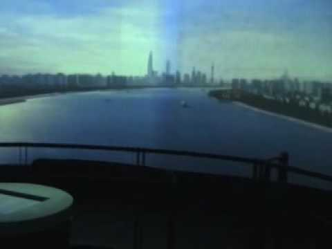 0 Maquete de 100m² mostra Shanghai em 2020