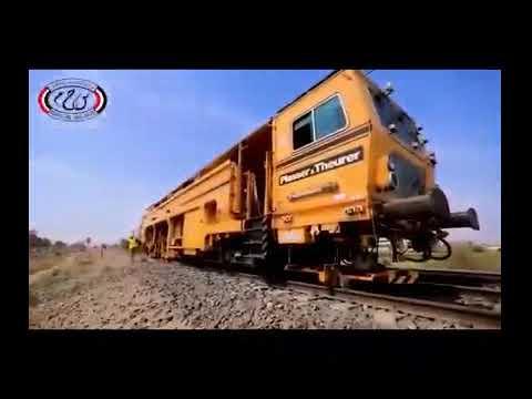فيديو عن تاريخ السكة الحديد والمشروعات الحالية التي تنفذها وزارة النقل لتحسين الخدمة المقدمة للركاب