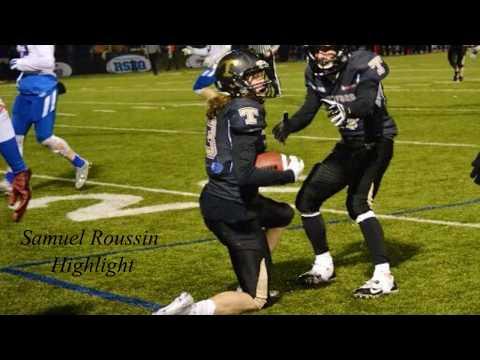 Samuel Roussin, WR, 2015 TFOOTBALL