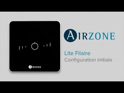 Comment configurer le thermostat Airzone Lite Filaire ?