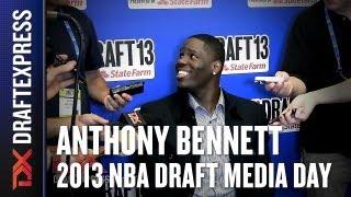 Anthony Bennett - 2013 NBA Draft Media Day Interview