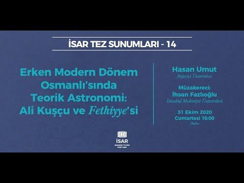 İSAR Tez Sunumları 14 | Dr. Hasan Umut | Müzakere: Prof. Dr. İhsan Fazlıoğlu