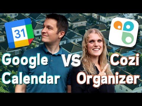 The Best Family Calendar: Google Calendar vs. Cozi Family Organizer