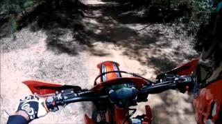 10. MY16 KTM 500EXC  FIRST RIDE !