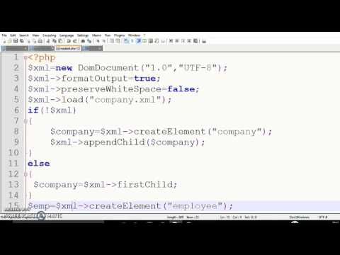 Video Sending Dynamic data from form to XML file with the help of PHP download in MP3, 3GP, MP4, WEBM, AVI, FLV January 2017