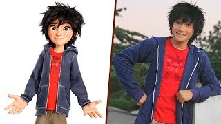 Big Hero 6 in Real Life! All Characters