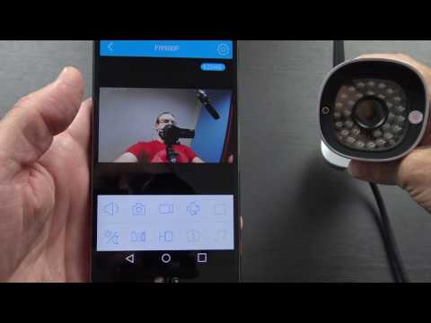 Foscam FI9900P Outdoor 1080P Wireless IP Camera Unboxing and Setup