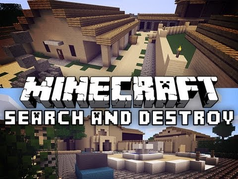 Minecraft Search and Destroy w/ Jerome #11 Spooky Ghost!