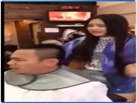Thanh niên sợ vợ bị vợ bắt cạo trọc đầu