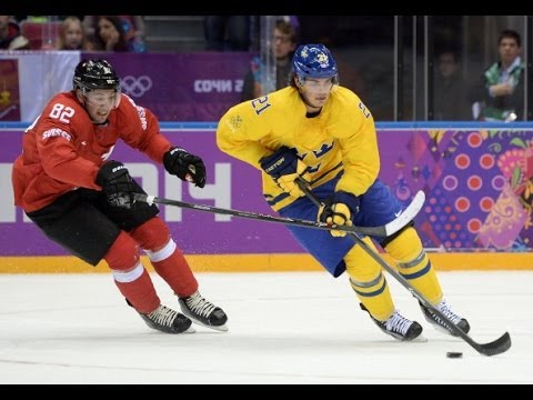Sochi Olympics 2014 Hockey – Sweden vs Switzerland