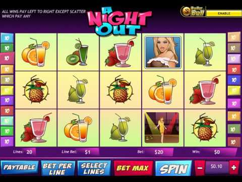 A Night Out Slot - Mega Big Win Bonus at D-Best Casino