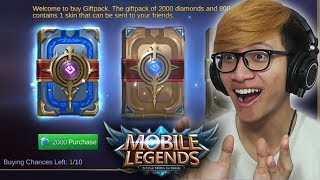 Video BUKA BUKU 2000 DIAMOND ( UNTUNG BESAR BOSSKUH ) ! - MOBILE LEGENDS INDONESIA MP3, 3GP, MP4, WEBM, AVI, FLV Oktober 2017