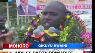 POLITICAL HEAVY WEIGHTS TROUNCED DURING PARTY PRIMARIES.