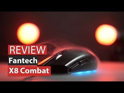Fantech x8 Combat Gaming Mouse, Bisa Jadi Pilihan?