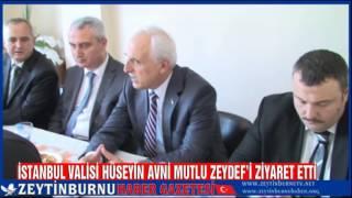 İstanbul Valisi Hüseyin Avni Mutlu'dan ZEYDEF'E İyadeyi Ziyaret