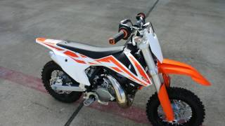 9. $3,499:  2017 KTM 50 SX Mini Overview and Review