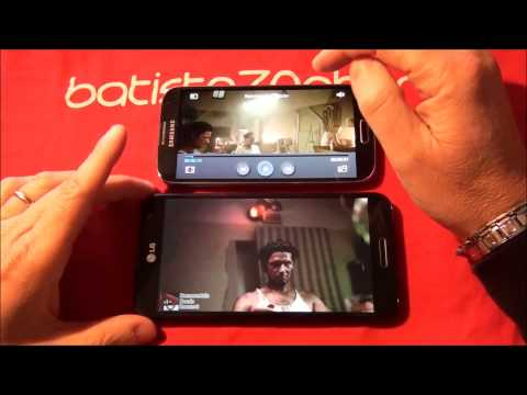 LG Optimus G Pro vs Samsung Galaxy S4 by batista70phone