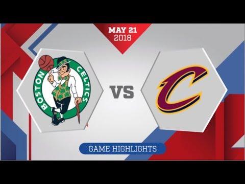 Boston Celtics vs Cleveland Cavaliers ECF Game 4: May 21, 2018 (видео)