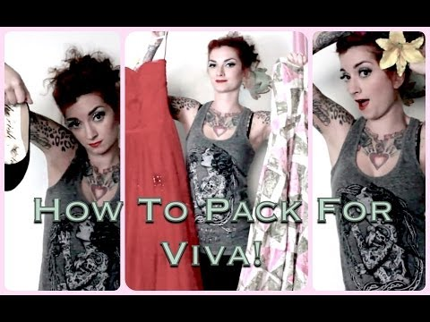 How to Pack For Viva Las Vegas Rockabilly Weekend by CHERRY DOLLFACE