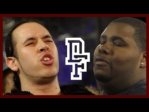DON'T FLOP - Rap Battle - Big Kannon Vs Tenchoo