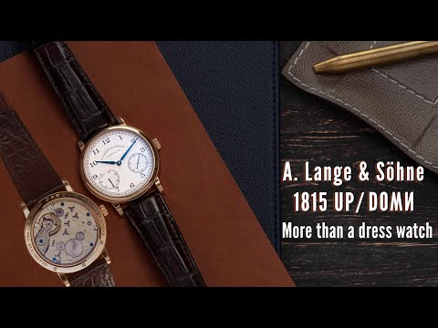 A Lange & Söhne 1815: More than a dress watch