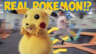 Video POKEMON GO REAL LIFE PIKACHU !! Wkwkwk MP3, 3GP, MP4, WEBM, AVI, FLV Juni 2018