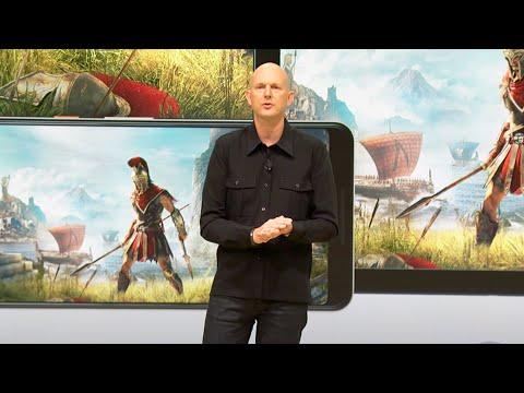 Stadia GDC 2019 Gaming Announcement