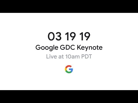 Stadia GDC 2019 Gaming Announcement